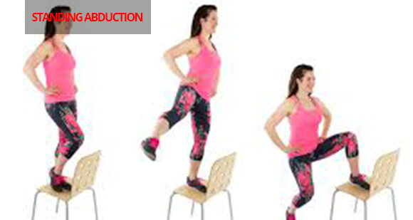 Resistance bands lwb Standing Abductionl jpg