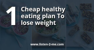 Cheap healthy eating plan to lose weight